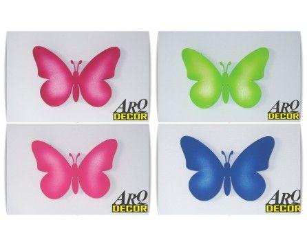 Motyl 03 - Dekoracja Na Ścianę Do Przedszkola, Żłobka, Pokój Dziecięcy (NA ZAMÓWIENIE) - ARQ - DECOR | Pracowania Dekoracji ARQ DECOR
