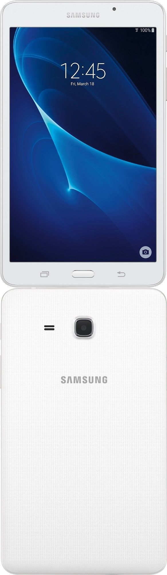 computers: Samsung Galaxy Tab A 7 Tablet Wi-Fi Quad-Core 8Gb 1.5 Gb Ram Android White New BUY IT NOW ONLY: $119.9