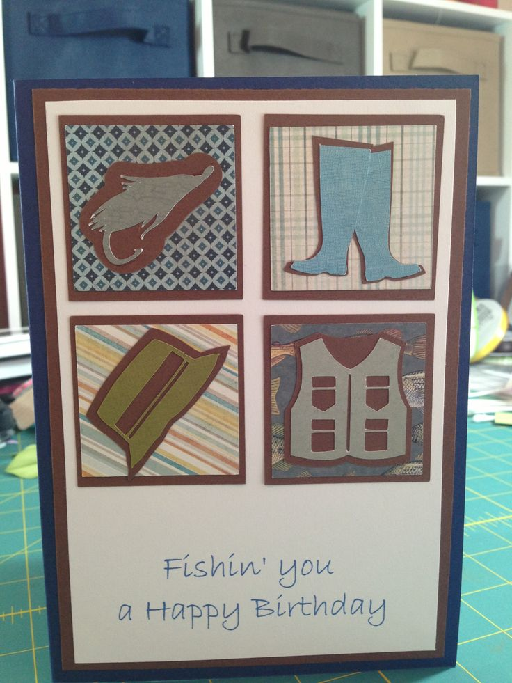 17 best images about for dad on pinterest david smith for Fishing birthday cards