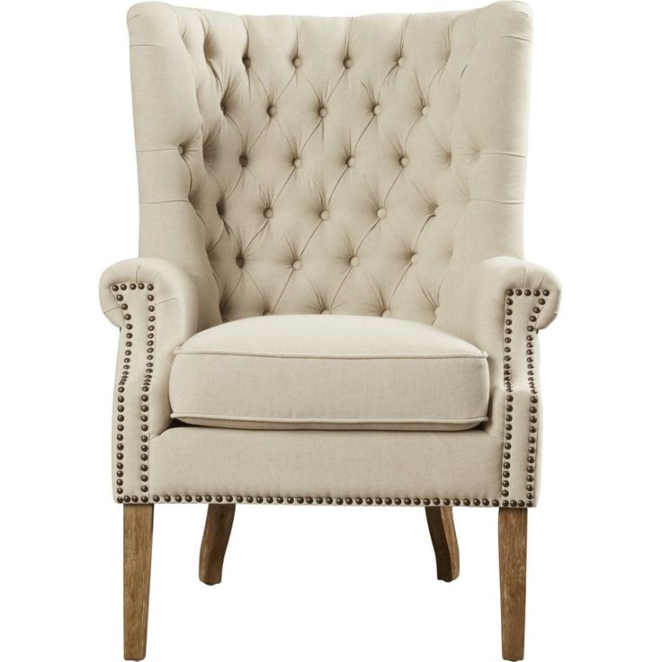 Anna Tufted Arm Chair Office Pinterest Arms