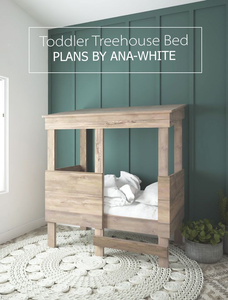 Toddler Treehouse Bed Toddler House Bed Rustic Toddler Beds