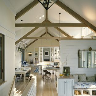 46 Best Images About Open Truss Ceilings On Pinterest