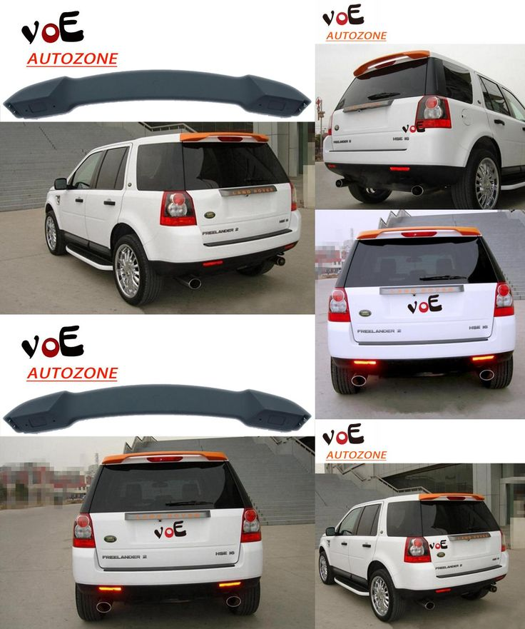 [Visit to Buy] 2007 2008 2009 2010 2010 2012 2013 2014 2015 Freelander 2 ABS Plastic Unpainted Primer Rear Spoiler for Land Rover Freelander 2 #Advertisement