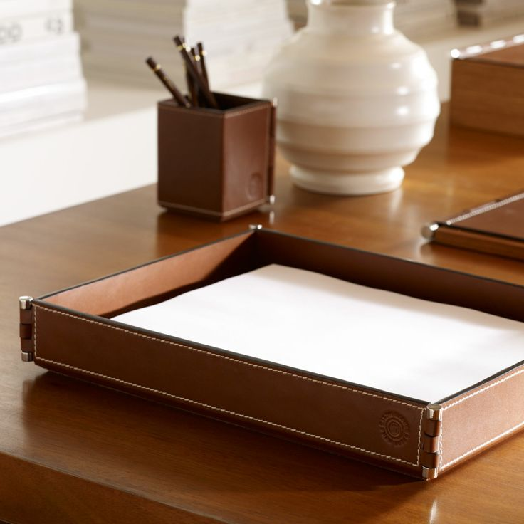 Ralph lauren paper tray office furniture pinterest for Ralph lauren office furniture