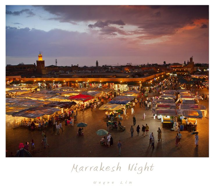 The exciting city of Marrakesh in Morroco!