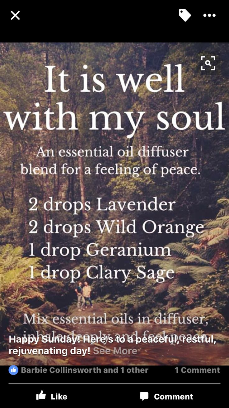 It is Well with My Soul diffuser essential oil blend