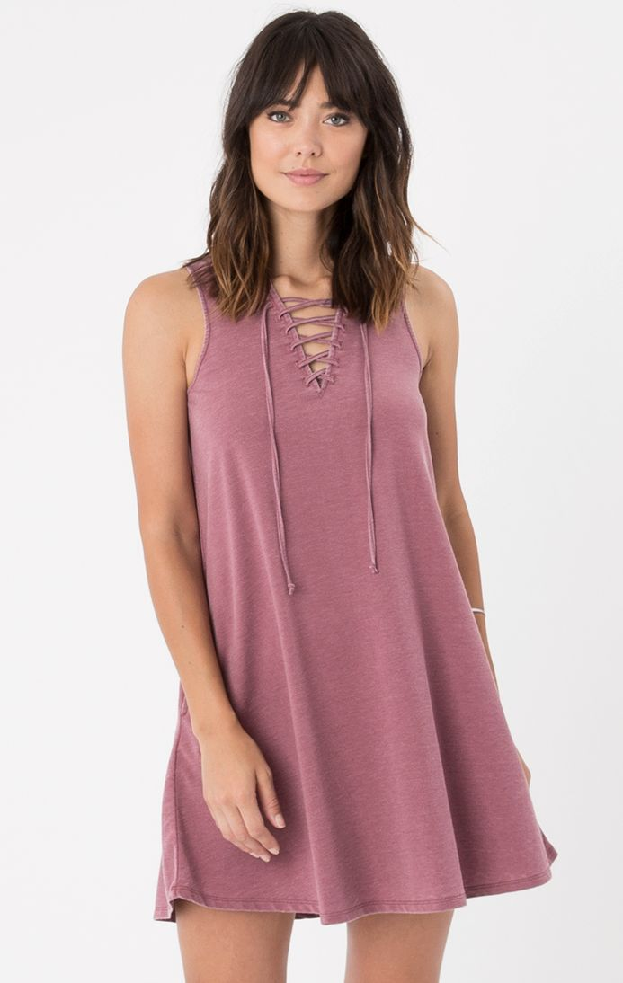 All Tied Up Dress by Z Supply (Rosewood)