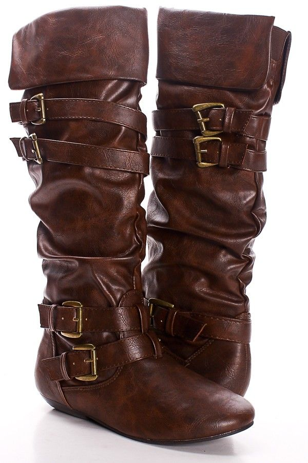 348 best Clothing : leather boots images on Pinterest