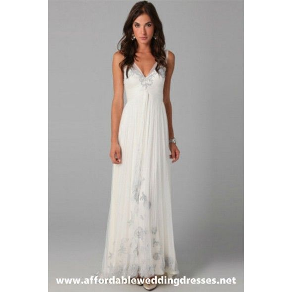 Wedding Gowns Second Marriage: Informal Second Wedding Dresses