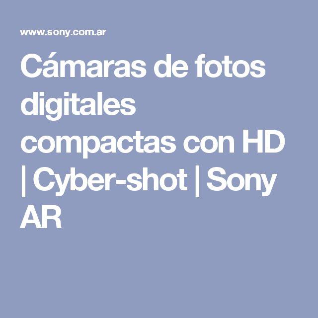 Cámaras de fotos digitales compactas con HD   Cyber-shot   Sony AR