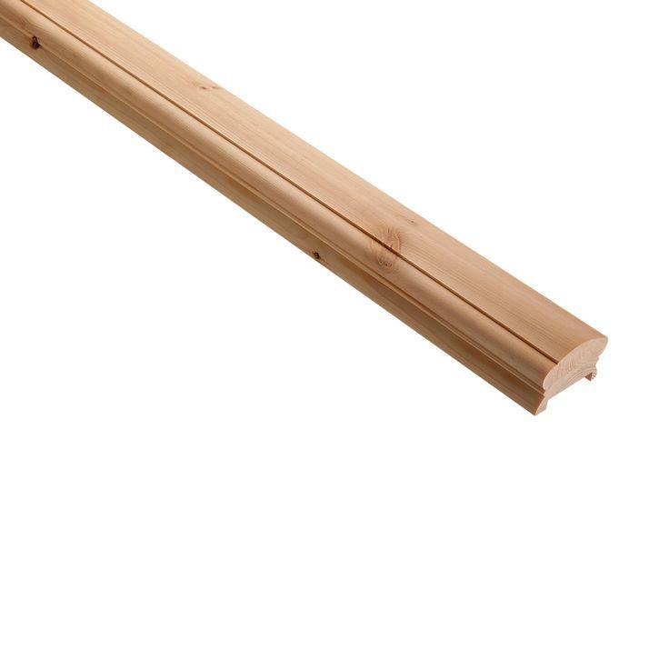 Best Pine Light Handrail L 2400Mm Departments Diy At B Q 400 x 300