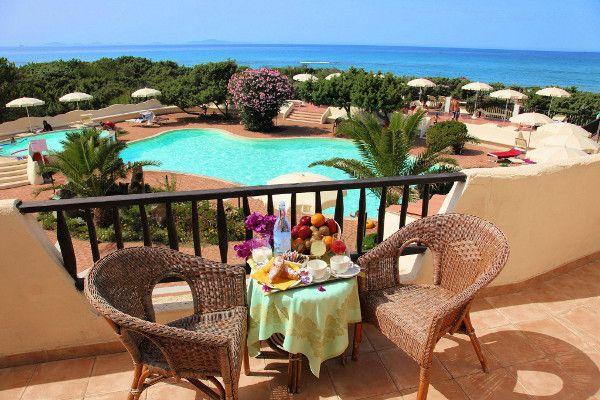 Vue piscine - Maxi Club Del Golfo