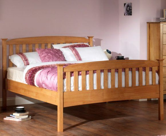Product - Clearance 30 cm 4ft Bed - 133.6W x 206.4L cm  Headboard Height - 105.3 cm Foot End Height - 80.3 cm Clearance Under Bed - 30 cm