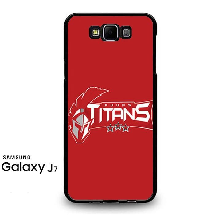 Puurs Titans Logo Red Samsung Galaxy J7 Prime Case