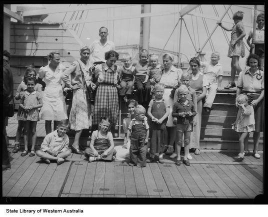 Dutch evacuees arrive in Australia, 18 October 1945  https://encore.slwa.wa.gov.au/iii/encore/record/C__Rb2397617