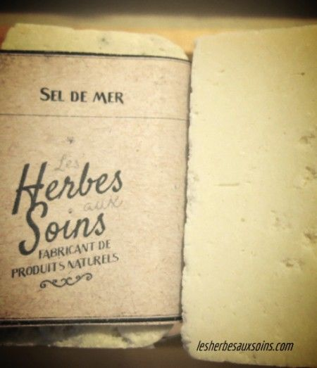Savon sel de mer | Herbes aux Soins