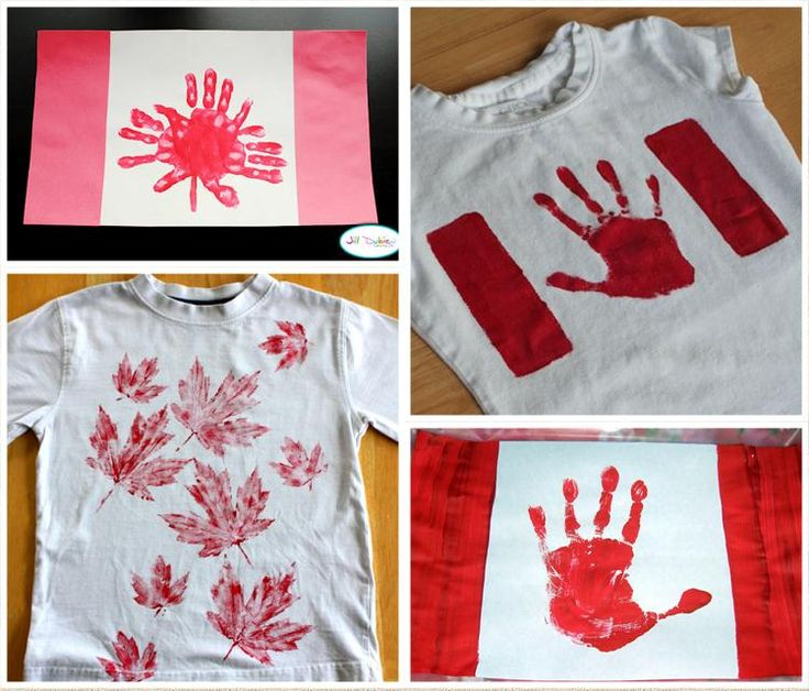 Canada Day crafts