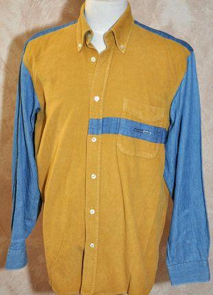 À vendre sur #vintedfrance ! http://www.vinted.fr/mode-hommes/chemises/28026531-tres-belle-chemise-velours-jeans-homme-t-3-marque-olly-gan-tbe
