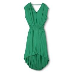 Mossimo® Women's High Low Dress - Uptown Jade S