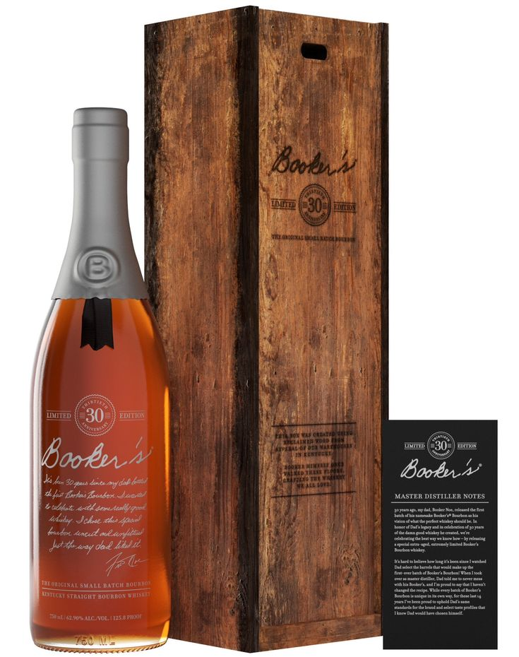 Bookers 30th anniversary limited release kentucky
