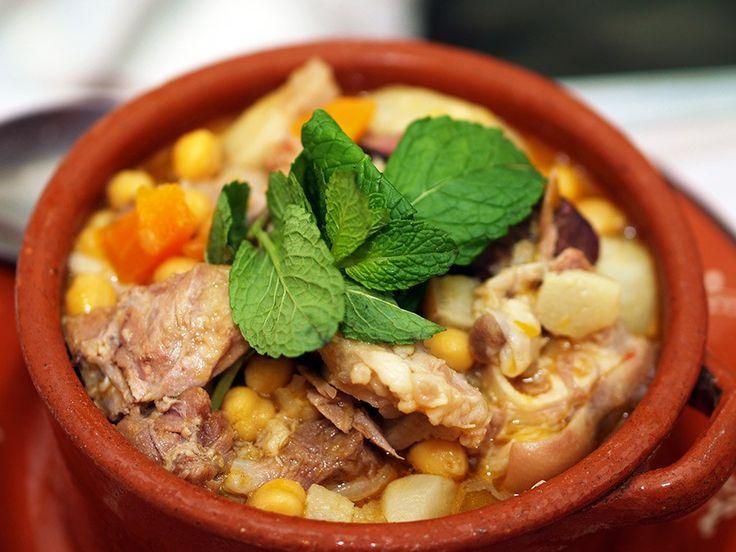 Cozido de Grao | Portuguese chickpea stew recipe | Saudades de Portugal