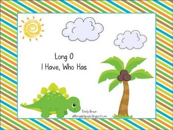 This game is designed for a large or a small group.  This fast paced game reinforces the long o vowel patterns oa and ow.