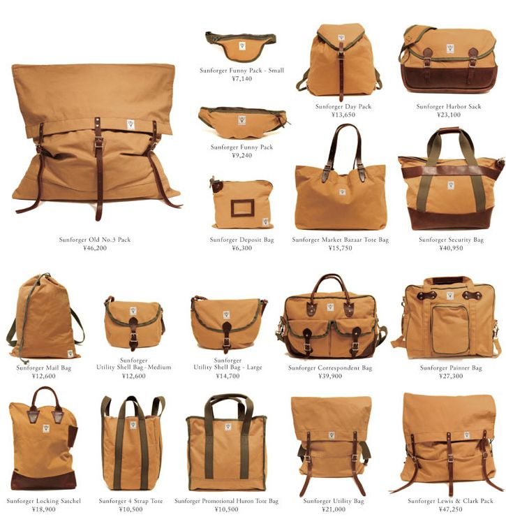 Sunforger Bags
