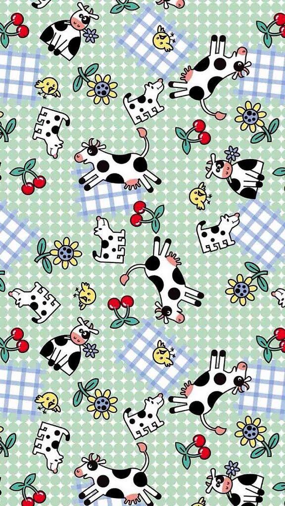 Cow Pattern Cow print wallpaper, Cow pattern