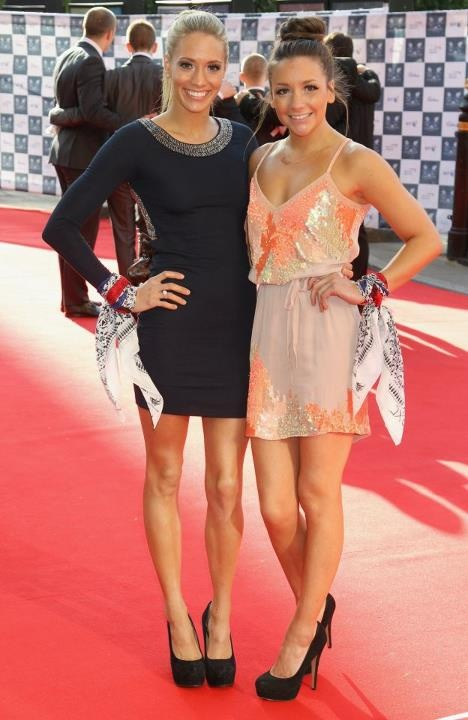 Team GB Synchronised swimmers and sisters, Jenna & Asha Randall — at Royal Albert Hall.
