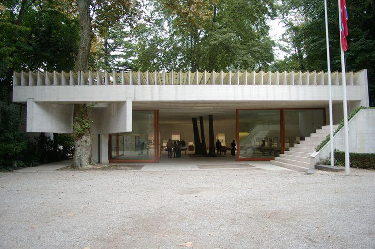 Sverre Fehn, Nordic Pavilion at the Venice Biennale