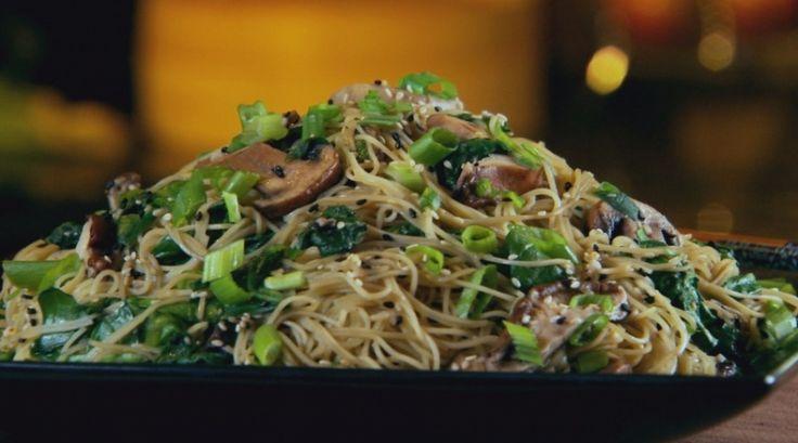Chow Mein con vegetales, ideal para conseguir un cuerpo atlético | Cromos