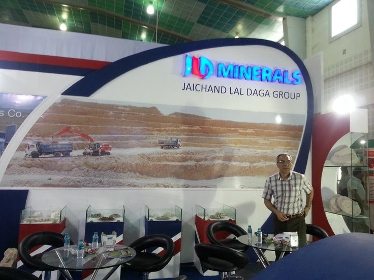JLD Minerals in Indian Ceramics 2013 - Exhibition