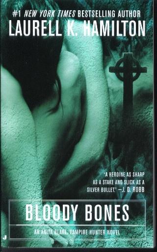 Book 5 of Anita Blake series bloody bones is based on an Irish fairy tale