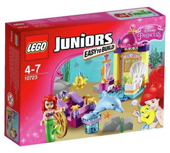 Buy LEGO Juniors Disney Princess Ariel's Dolphin Carriage -10723 at Argos.co.uk - Your Online Shop for LEGO, LEGO and construction toys, Toys.