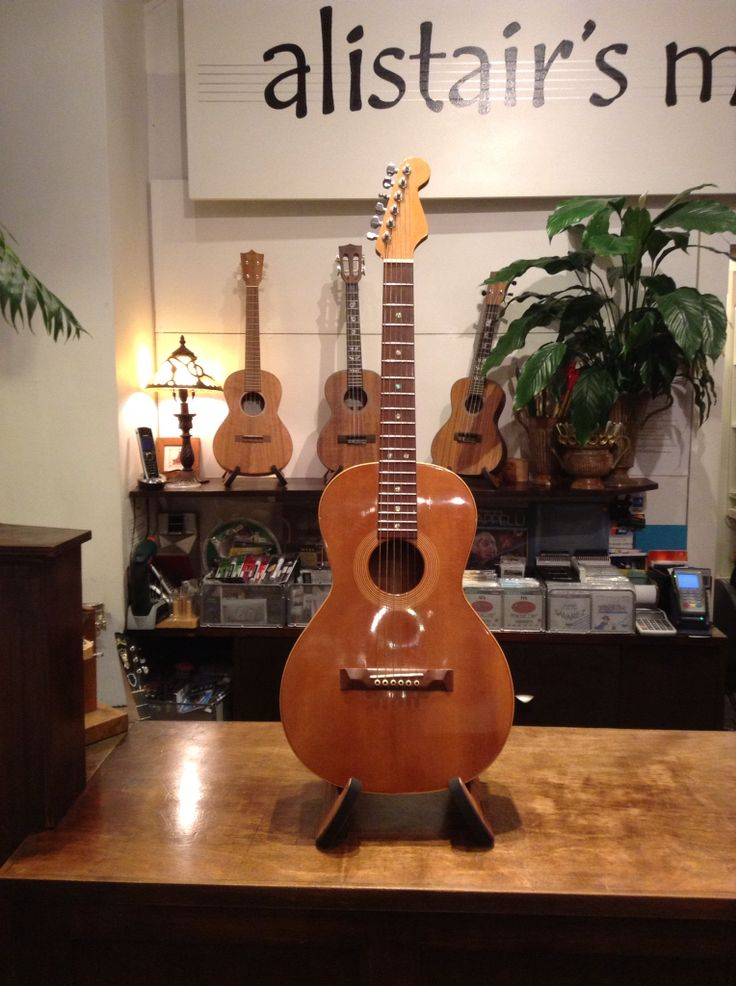 Peter Stephen guitar. Made from ancient swamp kauri (beautiful New Zealand timber).