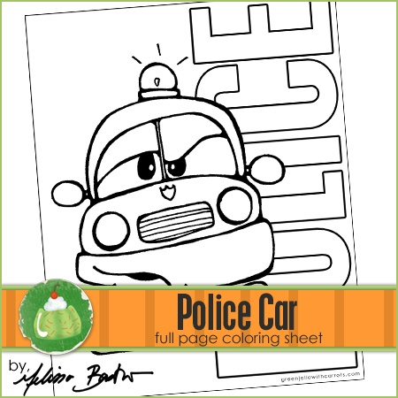 police car printable coloring page coloring pages free downloads pinterest police cars and. Black Bedroom Furniture Sets. Home Design Ideas