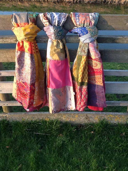 Prachtige sjaals, ze zijn allemaal verschillend