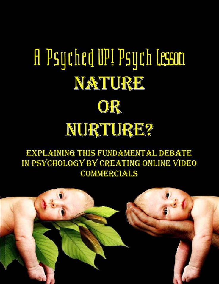 What are the competing arguments in the Nature v. Nurture debate? Nature or Nurture has always been a fundamental question in the study of psychology and continues to be heavily researched by experimenters and scholars today. By way of an online scavenger hunt and online video creator, students will demonstrate their profound knowledge of this essential debate in psychology.