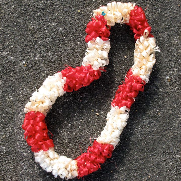 Rarely found outside of Tonga, our Salusalu lei is a unique handcrafted item that will last far longer than the typical flower lei. The lei (or hei) is made of the wild hibiscus fibers and carefully w