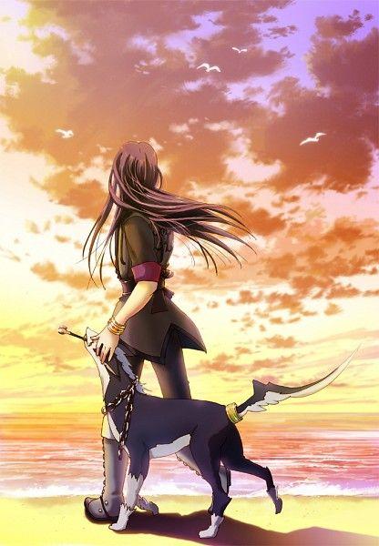Tags: Anime, Tales of Vesperia, Yuri Lowell, Repede, Hatomugi (Hato3pp)