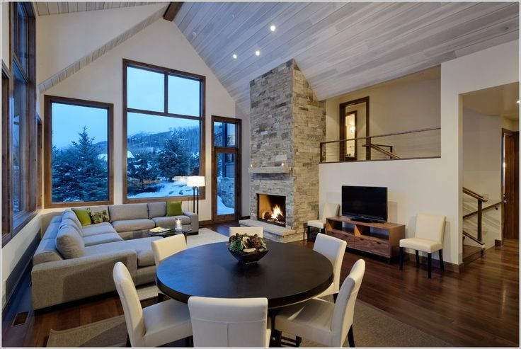 linear fireplace | ... fireplace-floating-stairs-glass-dining-table-linear-fireplace-polished