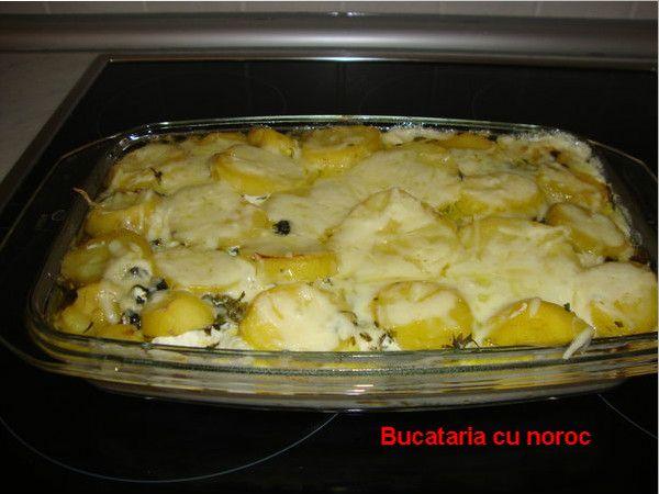 Budinca de cartofi in straturi - Bucataria cu noroc