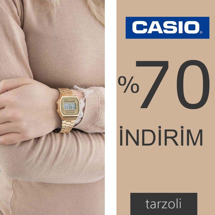 %70'e Varan İndirim👌🎊 Casio marka saatlerle tanışın http://www.tarzoli.com/ #tarzoli #casio #cuma #indirim #stil