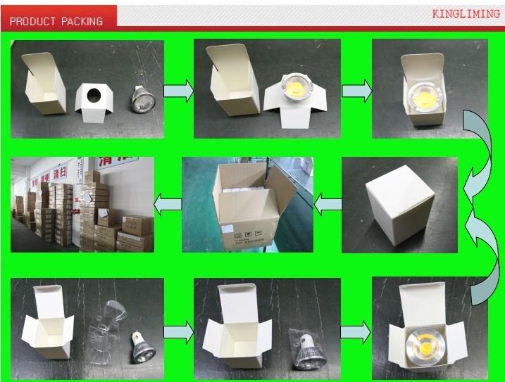 packaging for spotlights