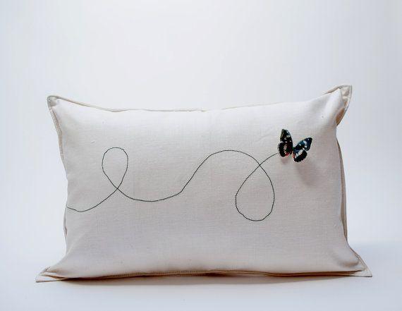 Butterfly Pillow ($45)