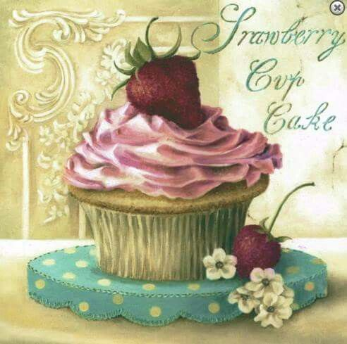 Cupcake Art Vintage : 11212 best images about Paper Crafting Printables on Pinterest