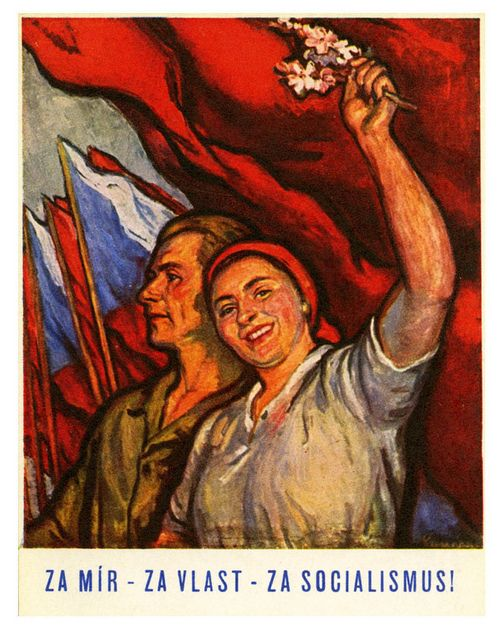 For Peace, For Country & For Socialism! Czechoslovakia (1950)