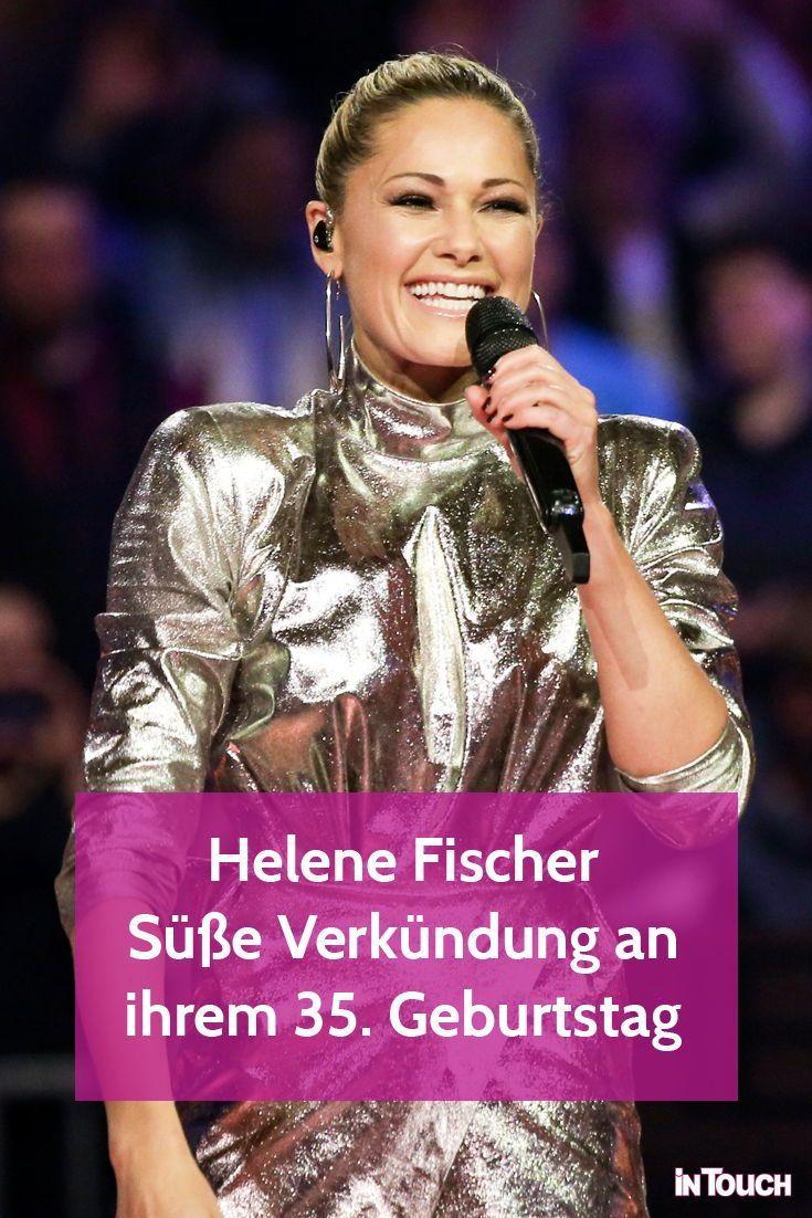Helene Fischer Zuckersusse Verkundung Aus Ihrer Auszeit Helene