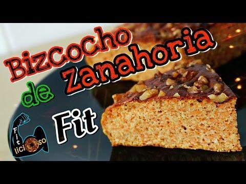 BIZCOCHO DE ZANAHORIA FIT (carrot cake) | Recetas Fitness - YouTube