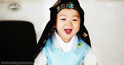 Minguk's aegyo | The Return of Superman